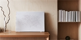 Chytrý reproduktor IKEA Symfonisk Picture Frame vypadá na stěně jak obraz