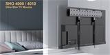 """Stell SHO 4010: ultratenký držák na jakýkoliv televizor o velikosti obrazovky 43"""" až 80"""""""