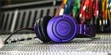 Audio-Technica ATH-M50xBT PB: bezdrátová studiová Hi-Fi sluchátka v limitované edici