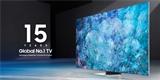 Samsung je největším a nejúspěšnějším výrobcem televizorů už 15 let v řadě