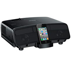 Epson MG-850HD: projektor s iPhone dokem