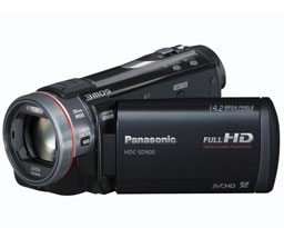 Videokamera Panasonic HDC-SD900 (video)