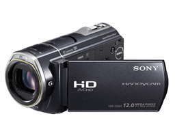 Sony HDR-CX520 - videokamera: video