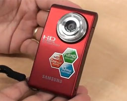 Samsung HMX-U10: HD kamerka (video)