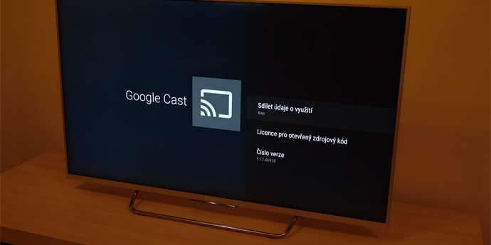 Google Cast na Android TV
