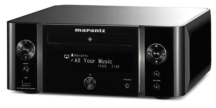 Marantz M-CR611: malý síťový all-in-one Hi-Fi systém [test]