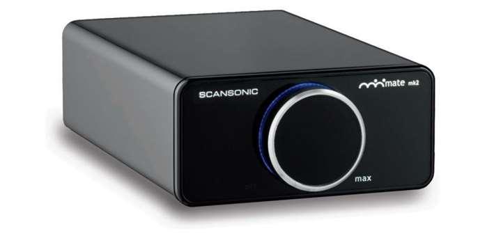 Scansonic A200: malý, stylový, digitální Hi-Fi zesilovač [test]