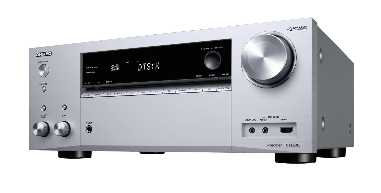 Galerie - Onkyo TX-NR686: nový, dobře vybavený 7.2 kanálový AV receiver – AVmania.cz